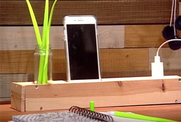 איך יוצרים ממפצל משעמם פריט מעוצב לשולחן?