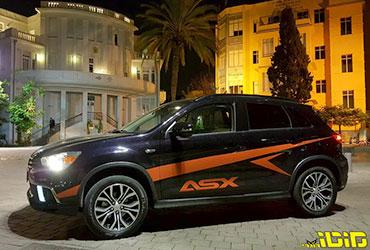 מיצובישי ASX – תנו וי לעוד SUV